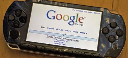 El nuevo firmware 4.00 de PSP incluye buscador de Google