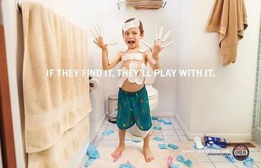 Look up your guns: graciosa campaña que usa condones y dildos para promover el uso seguro de las armas