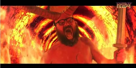 Ignatius y David Broncano parodian 'Hellboy' en un falso tráiler dirigido por Bayona