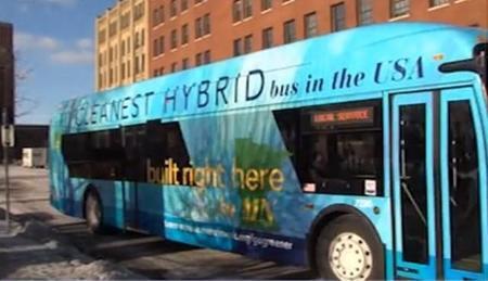 120 nuevos autobuses híbridos de tracción eléctrica en Seattle