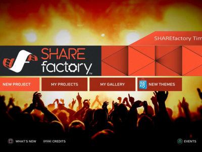 Con la nueva actualización de SHAREfactory ahora puedes editar vídeos en cámara lenta y mucho más