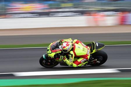 Dominique Aegerter Gp Gran Bretana Moto2 2018