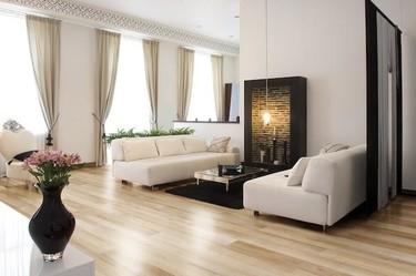 Tablones de cerámica tecnológica, de la colección Maple de Venatto, que parecen madera