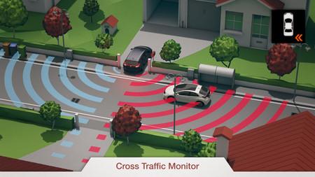 Honda Civic Cross Traffic Monitor