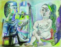 """""""Picasso en el taller"""" , la obra más inédita de Pablo Picasso la encontrarás en la Fundación Mapfre"""