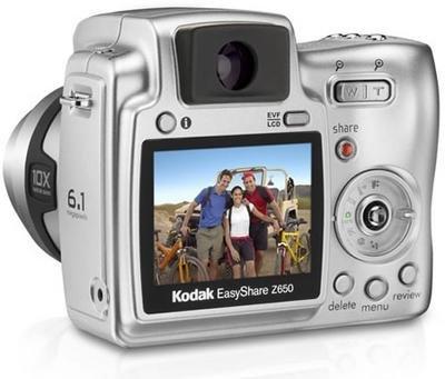 Kodak Z650, con zoom extragrande