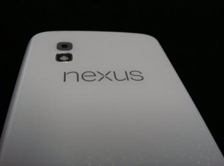 Se filtra la fotografía de un Nexus 4 de color blanco