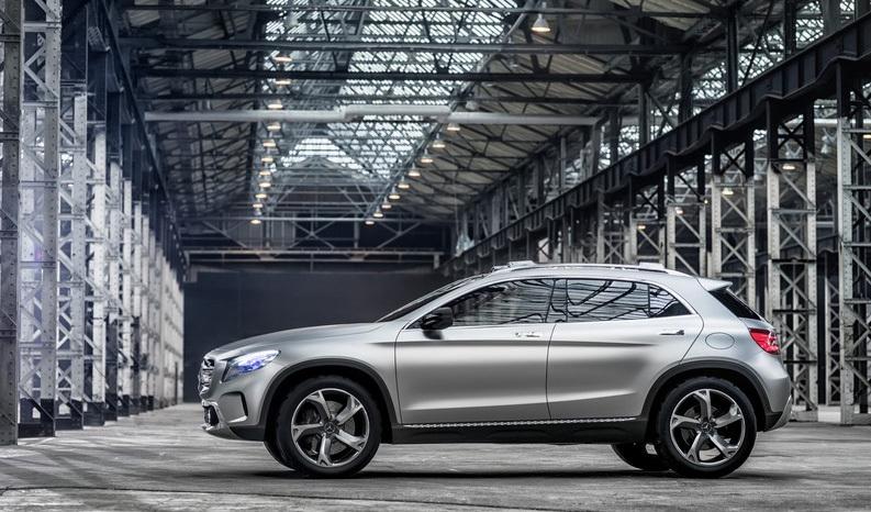 Foto de Mercedes-Benz GLA Concept (3/12)