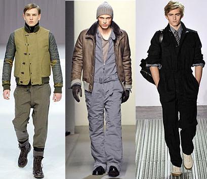 Tendencias en moda masculina otoño-invierno 08/09: hombre trabajador