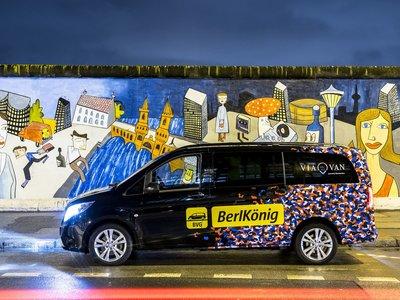 Mercedes-Benz consigue lanzar ViaVan en Londres, un nuevo servicio de viajes compartidos