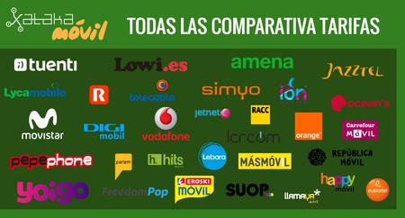 Todo lo que necesitas saber para elegir la mejor tarifa móvil: comparativas y ranking con la tarifa más barata