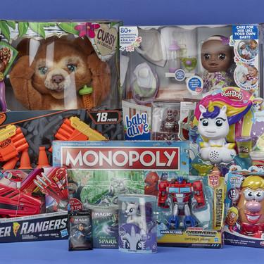 Hasbro se compromete a eliminar los envases de plástico en todos sus juguetes y videojuegos para niños para 2022