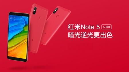 Xiaomi Redmi Note 5 Flame Red