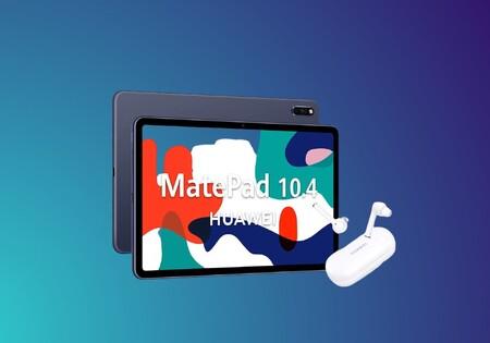 La tablet Huawei MatePad destaca por su calidad precio: en Amazon está a precio mínimo y con los auriculares FreeBuds 3i gratis