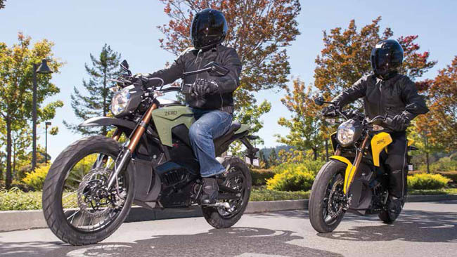 Zero Motorcycles 2013