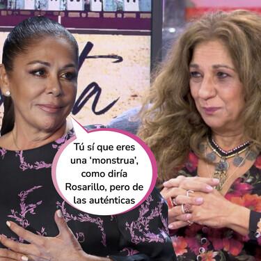 El aplaudido dardazo de Lolita Flores a Isabel Pantoja en 'Sábado Deluxe'
