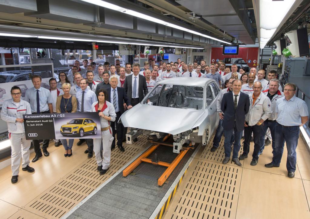 Audi Q2 Ingolstad