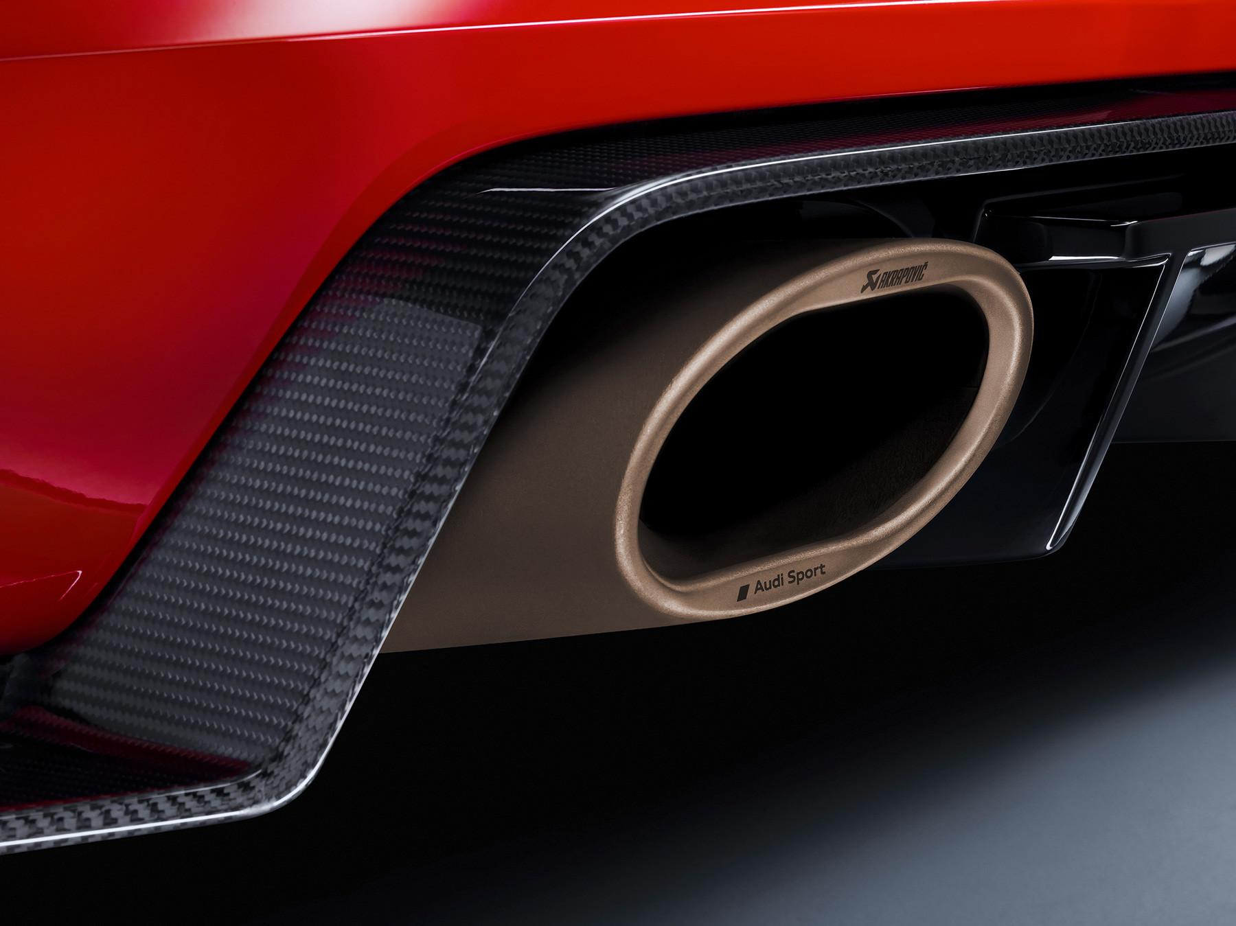Foto de Audi Sport Performance Parts le inyecta más deportividad al R8 y TT (6/10)