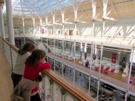 Museo Nacional Escocia niños