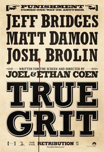 'True Grit', cartel de lo nuevo de los hermanos Coen