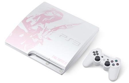 PS3 Slim edición especial 'Final Fantasy XIII', otra joya sólo para Japón [TGS 2009]