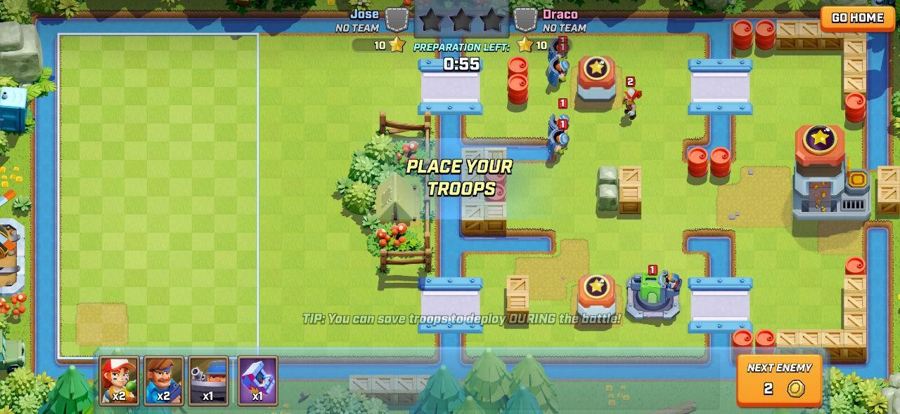 Foto de Capturas de pantalla de Rush Wars (6/13)