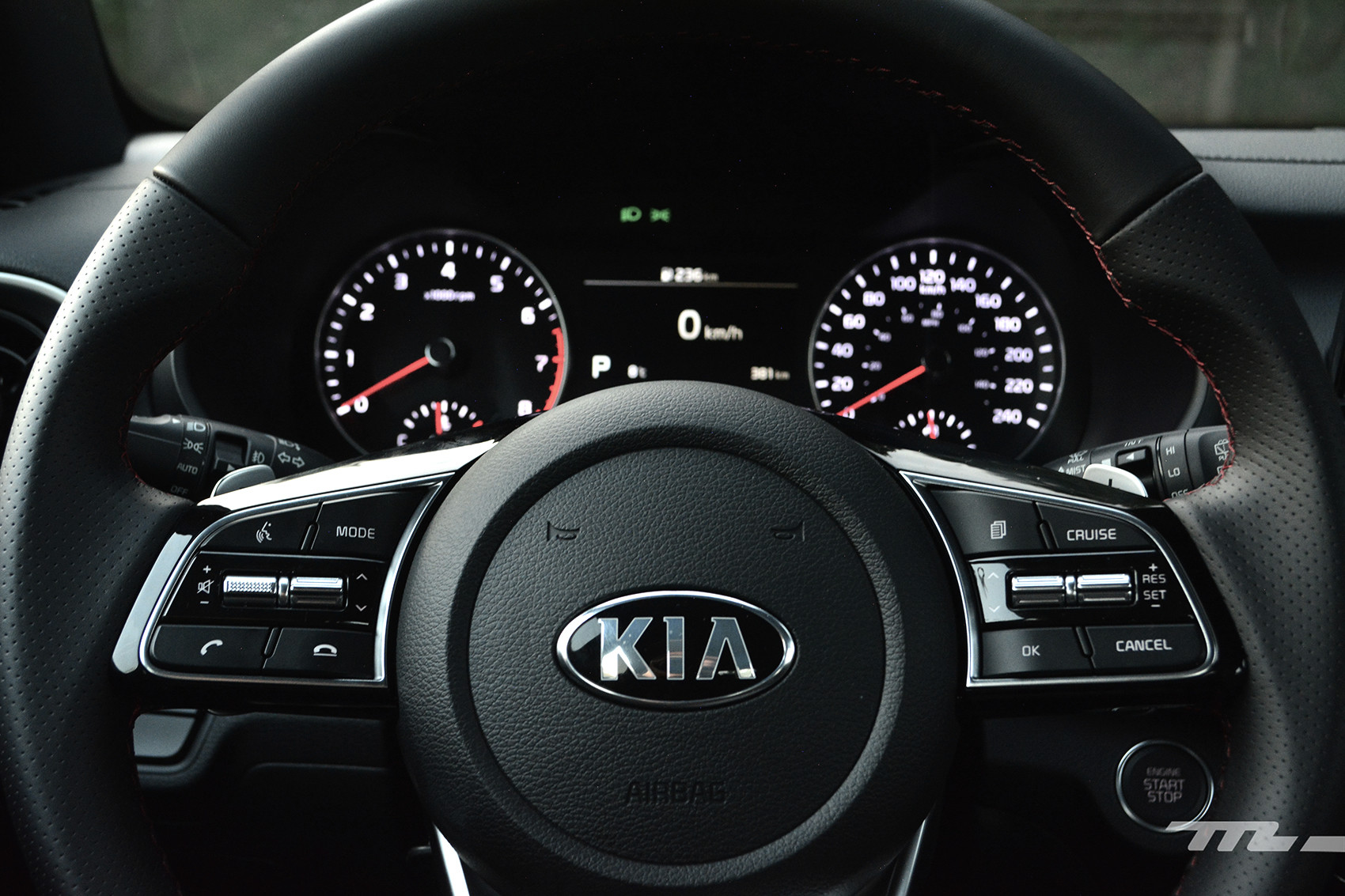 KIA Forte GT Hatchback (prueba)