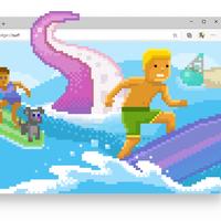 Surf, el juego casual dentro Microsoft Edge, ya se puede usar aunque no tengamos conexión a Internet