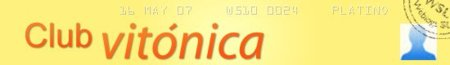 Comienza el Club Vitónica, una sección con concursos y regalos