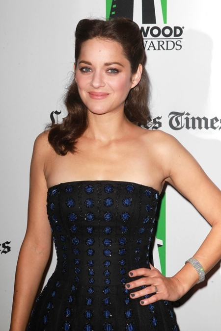 marion cotillard hollywood gala