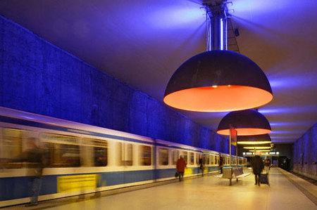 El Metro de Munich y otros medios de transporte