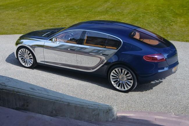 Bugatti quiere tener un segundo modelo, y bien podría ser un SUV