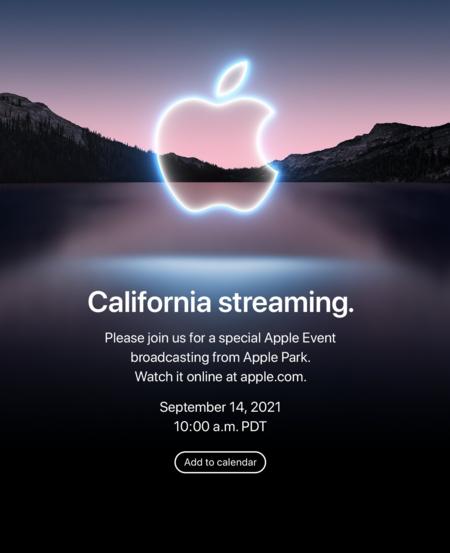 La invitación de Apple para el 14 de septiembre
