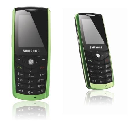 Samsung E200 Eco, el móvil ecológico