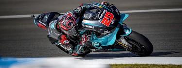 Fabio Quartararo gana y Valentino Rossi regresa al podio para culminar el triplete de Yamaha en Jerez