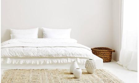 Zara Home y el poder evocador de una cama de un blanco inmaculado