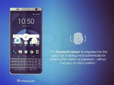 El próximo smartphone de BlackBerry con teclado físico, llegaría con Android Nougat de fábrica