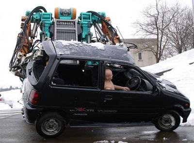 Kenryu, robot para catástrofes varias