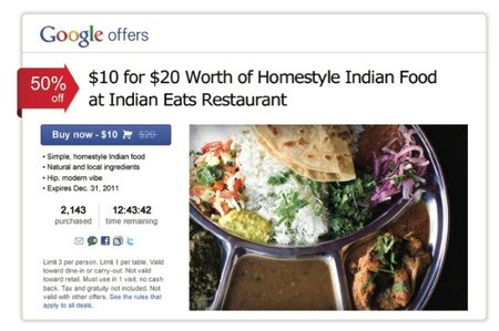 Google entrará en el mercado de ofertas locales