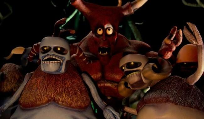 'Hell and Back', tráiler de una película de animación stop-motion para adultos