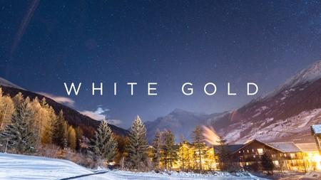 """""""Oro blanco"""", los impresionantes paisajes nevados de Val-Cenis (vídeo)"""