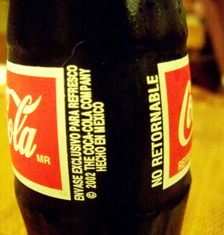 Coca Cola Hecha en Mexico