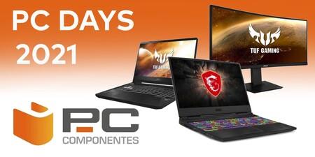 PC Days 2021: PcComponentes tiene portátiles y monitores gaming de ASUS, Lenovo o MSI a los mejores precios del verano con descuentos de hasta el 39%