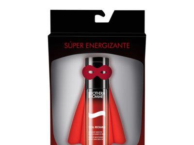 Para los superhéroes modernos, de esos de capa y antifaz, energía por un tubo