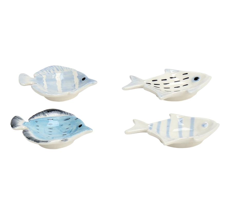 Set 4 mini cuencos con forma de pez Cádiz El Corte Inglés