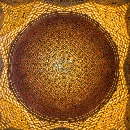 Cupula Del Salon De Embajadores De Los Reales Alcazares De Sevilla
