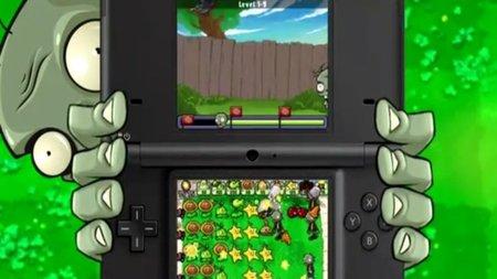 'Plantas contra Zombis'. Tráiler de su versión para DS