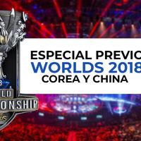 Un repaso a los 24 equipos de Worlds 2018 de LoL: China y Corea del Sur