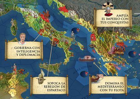 Muy pronto recibiremos en España 'Alea Iacta Est - El Imperio Romano en Guerra', lo nuevo del creador de 'Europa Universalis'