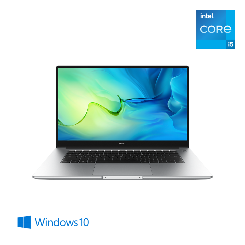 HUAWEI MateBook D 15 2021, Intel® Core™ i5-1135G7, 16GB+512GB, Intel® Iris® Xe, Windows 10, Mystic Silver